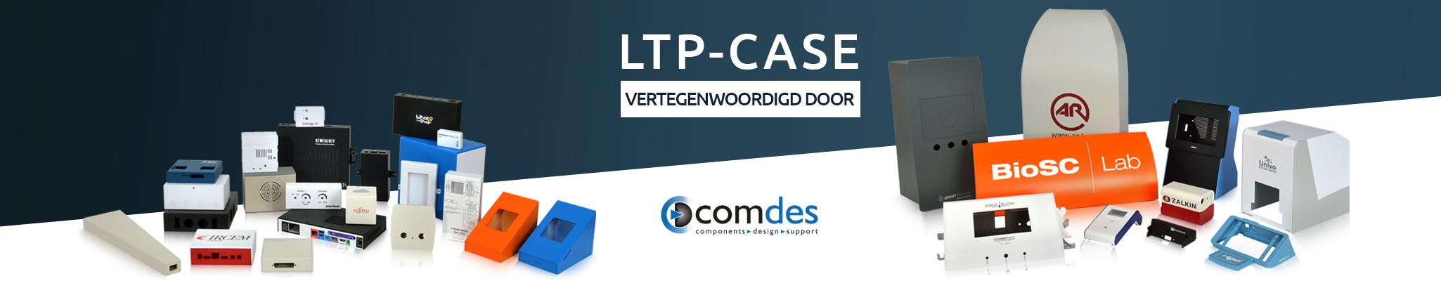 LTP Case plastic plaat met boorgroef